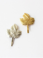 Maple Leaf Shape Hair Clip