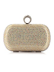 Luxurious Diamante Clutch Bag