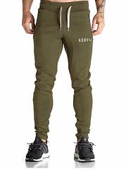 Elastic-Waist-Letters-Slim-Leg-Mens-Casual-Sport-Pants