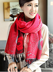 Bohemian-Plain-Soft-Cotton-Tassel-Decoration-Scarves