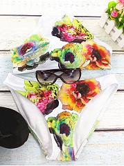 Sexy-Halter-Floral-Printed-Bikini