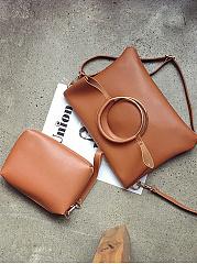 Two-Pieces-Bag-Set-Round-Handle-Crossbody-Bag