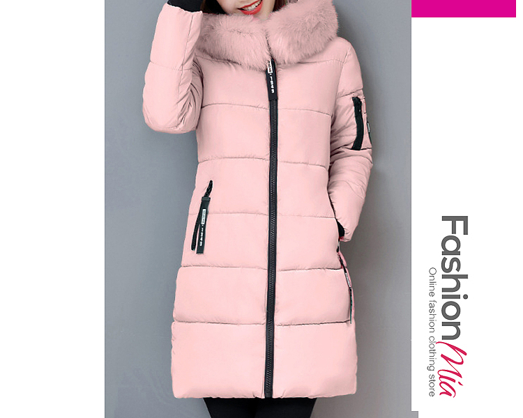 gender:women, hooded:yes, thickness:thick, brand_name:fashionmia, outerwear_type:coat, style:casual, material:polyester, collar&neckline:hooded, sleeve:long sleeve, embellishment:slit pocket,zips, more_details:quilted, pattern_type:letters, supplementary_matters:all dimensions are measured manually with a deviation of 2 to 4cm., occasion:casual,vacation, season:winter, package_included:top*1, lengthshouldersleeve lengthbust