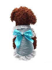 Bowknot-Beading-Lace-Princess-Dog-Dress