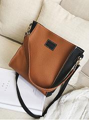 Color-Block-Chic-Crossbody-Bag-Shoulder-Bag