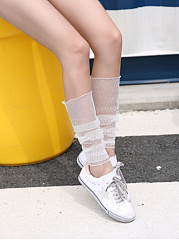 Mesh Sexy Long Leg Hollow Out Leg Warmers