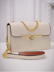 Pu Classic Gold Chain Crossbody Bag