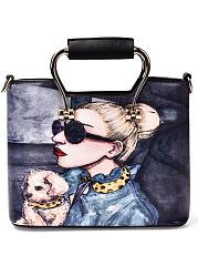 Personality-Graffiti-Beauty-Print-Women-Hand-Bag