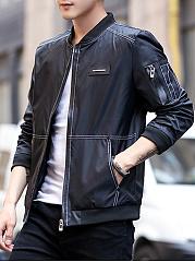 Band-Collar-Contrast-Stitching-Men-Bomber-Jacket