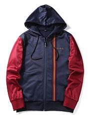 Hooded-Pocket-Printed-Men-Coat