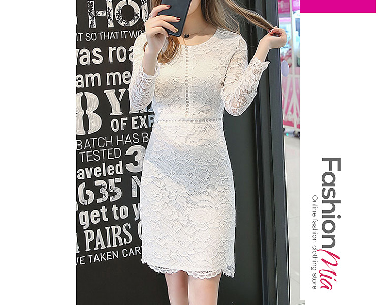 thickness:regular, brand_name:fashionmia, style:western, material:blend, collar&neckline:round neck, sleeve:long sleeve, pattern_type:plain, length:knee-length, how_to_wash:cold  hand wash, supplementary_matters:all dimensions are measured manually with a deviation of 2 to 4cm.,the fabric is slightly elastic., occasion:daily*date, season:autumn*winter, dress_silhouette:sheath, package_included:dress*1, length:88,shoulder:35,sleeve length:53,bust:84,waist:70,hip:86,