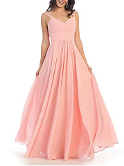 Plain Evening Dress