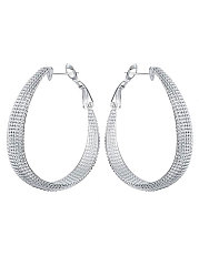 Metal Circle Chic Earrings