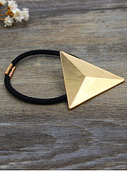 Gold Triangle Shape Hair Band