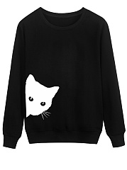 Round Neck  Animal Printed  Long Sleeve Sweatshirts