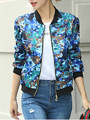 Abstract-Print-Long-Sleeve-Jackets