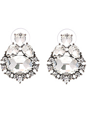 Captivating Faux Crystal Earrings