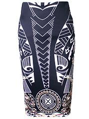 Vintage-Printed-Pencil-Midi-Skirt
