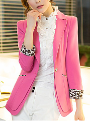 Fold-Over-Collar-Plain-Blazer