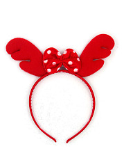 Christmas Bowknot Antlers Style Hairband