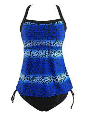 Spaghetti-Strap-Leopard-Swimwear