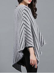Word Collar  Striped Cape