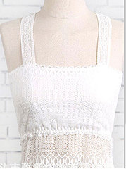 Women Sexy Lace Back Butterfly Vest Hollow Tube Top Vest Bras