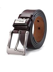 Men-Leisure-Jeans-Pin-Buckle-PU-Leather-Belt