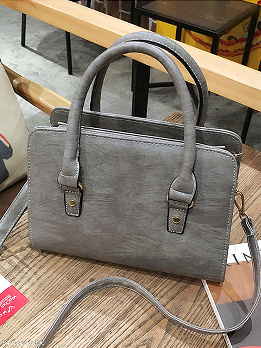77903ae84a44 PU Plain Hand Bag Or Shoulder Bags - fashionMia.com