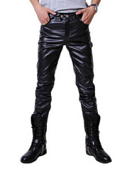 Sparkling Men's Plain Patch Pocket Pants