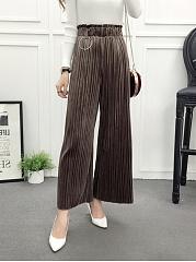Winter-High-Rise-Wide-Leg-Asymetric-Strip-Casual-Long-Pants
