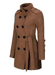 Classical Double Breasted Wool Coat