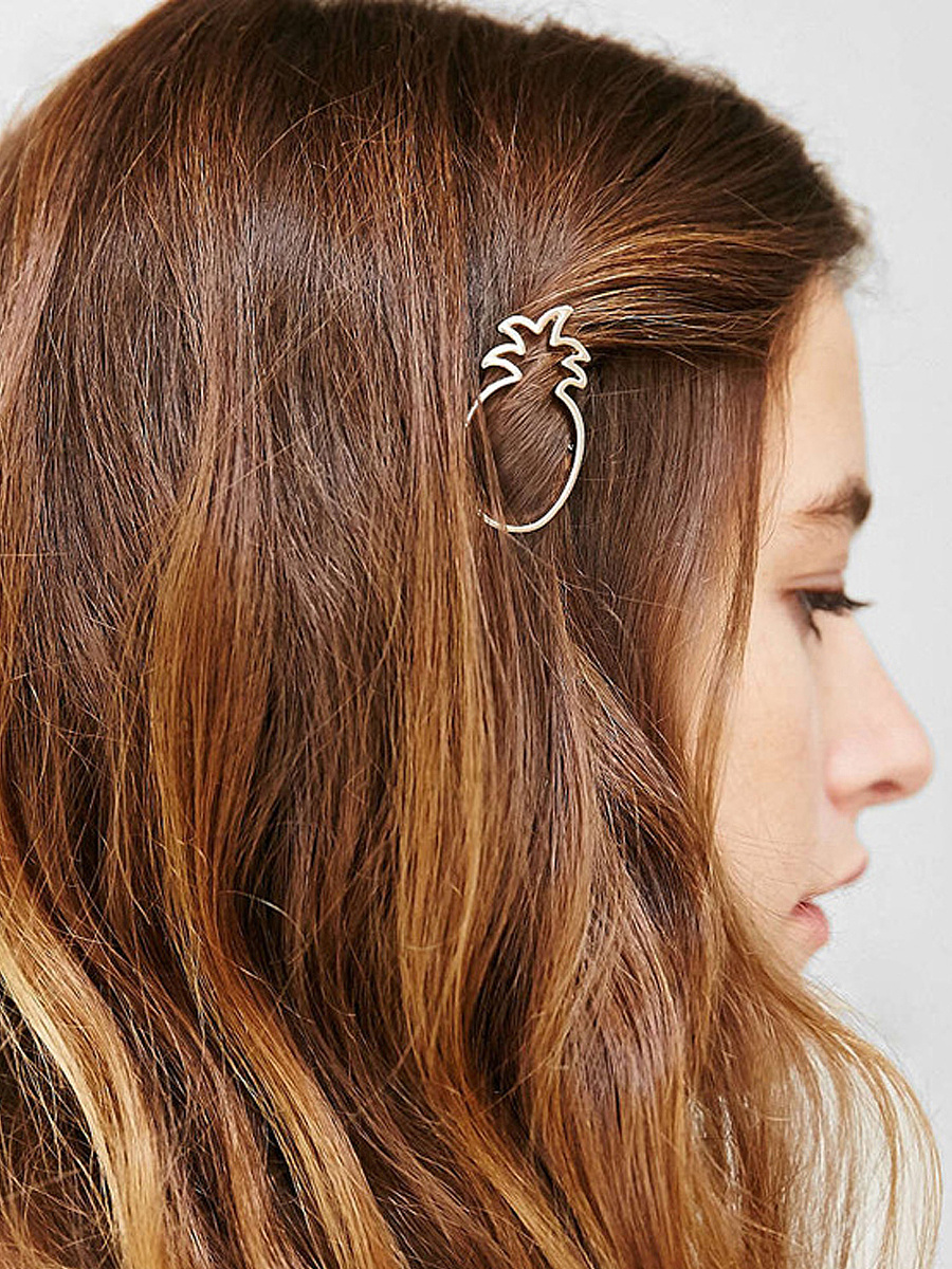 Pineapple Shape Hair Clip