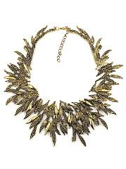 Metal-Floral-Bib-Statement-Necklace