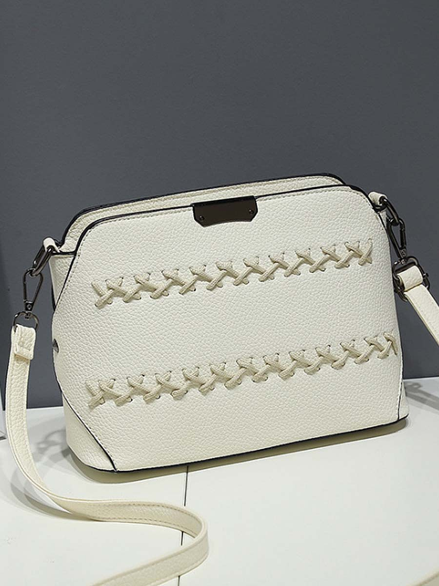 Cross Pu Shell  Crossbody Bag
