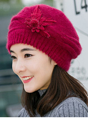 Lady-Elegance-Fashion-Faux-Fur-Plain-Polyamide-Hats-For-Winter