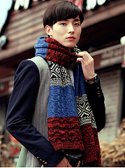 Long-Warm-Color-Block-Woolen-Scarf-For-Men