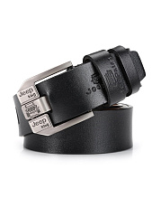 Mens Business Retro Leisure PU Leather Belt