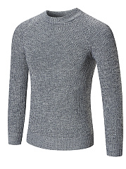 Crew-Neck-Plain-Mene28099S-Sweater