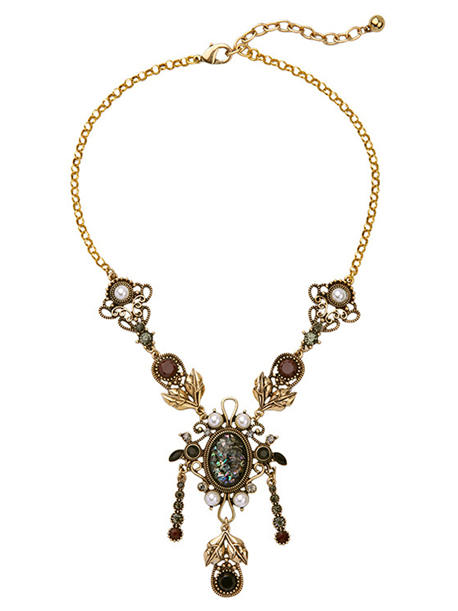 Exotic Style Statement Adjustable Necklace