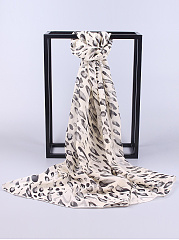 Chiffon Leopard Printed Scarves