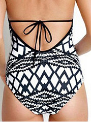 Geotric Shape One Piece For Women