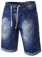 Patch-Pocket-Acid-Wash-Mens-Midi-Jeans