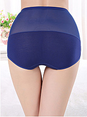 Elastic Lace Tall Waist Body Slimming Abdomen Corset Underpant