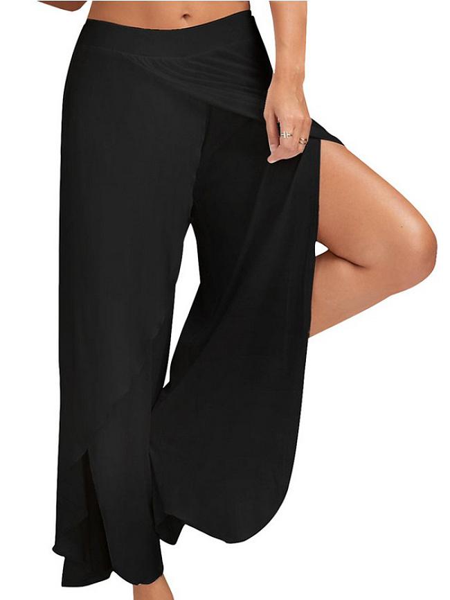 Fashionmia Sports Fitness Yoga Wide Leg Pants