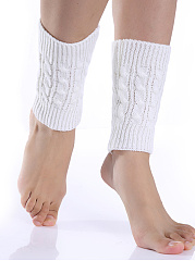 Basic Warm Winter Knit Leg Warmer
