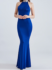 Halter Evening Dress