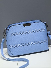 Cross Pu Shell Bag Crossbody Bag