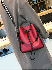 Two Pieces Red Chic Shoulder Bag