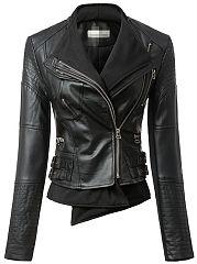 Excellent-Leather-Plain-Jacket-With-Zipper